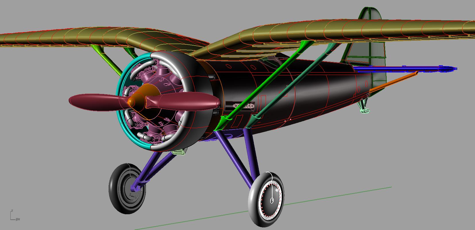 Model samolotu PZL P.7a z Arma Hobby