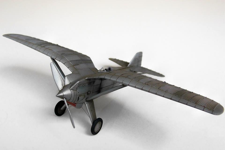 PZL P.1/I scale 1/72 – Model by Maciej Zlotkowski