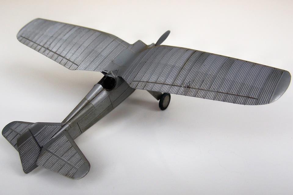 Model PZL P.1/I w skali 1/72 – Maciej Złotkowski