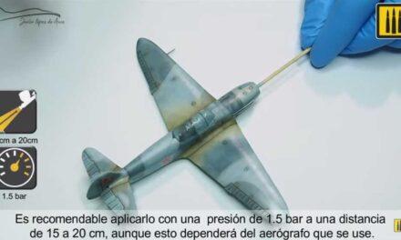 How to apply AMMO Matt Lucky Varnish on Yak-1b kit?